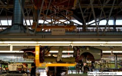 Rolls-Royce 2014 Factory Tour Wraith Shell