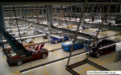 Rolls-Royce 2014 Factory Tour Completed Car PArk