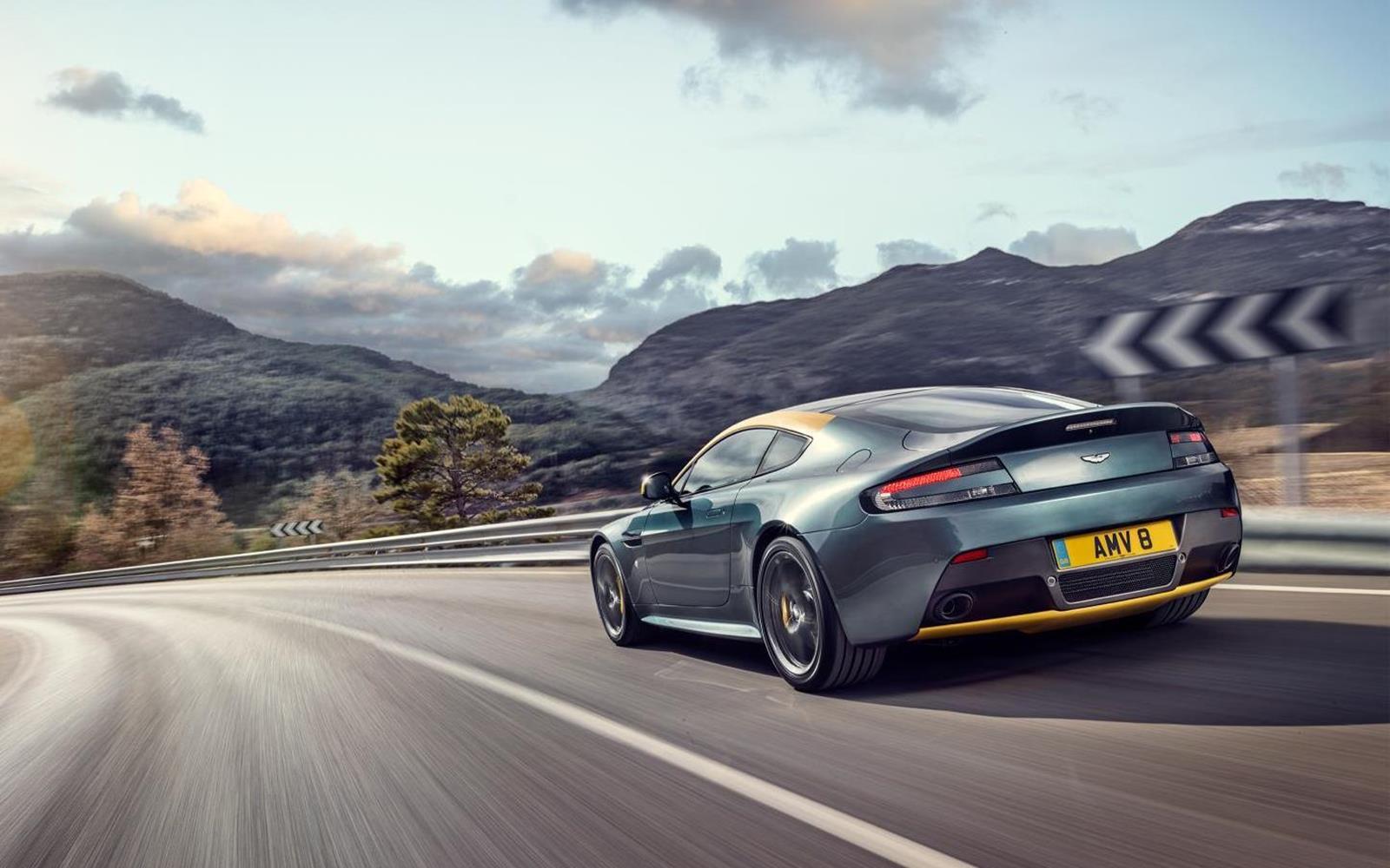 Aston Martin V8 Vantage N430 2014 2