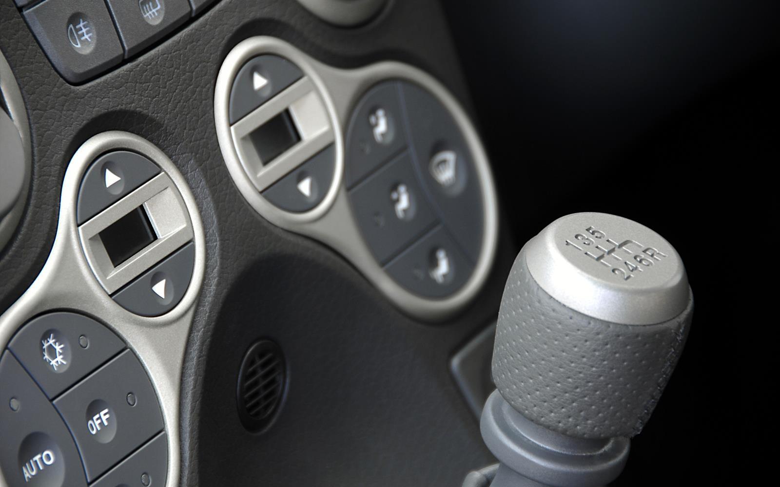 Fiat Panda 100HP 2006 Dashboard Detail