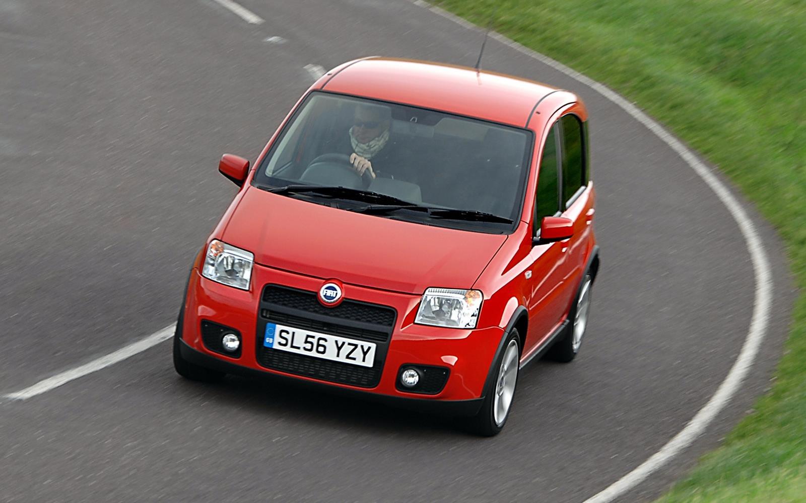 Fiat Panda 100HP 2006 Front Dynamic
