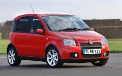 Fiat Panda 100HP 2006 Front Static