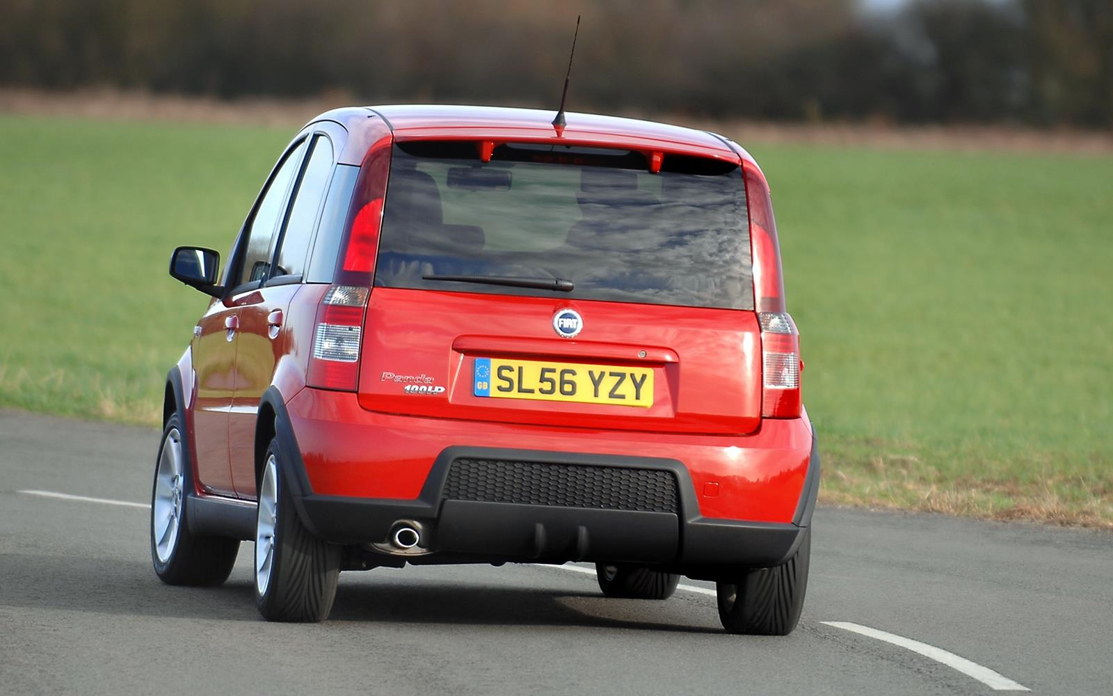 Fiat Panda 100HP 2006 Rear Dynamic