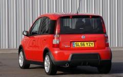 Fiat Panda 100HP 2006 Rear Static
