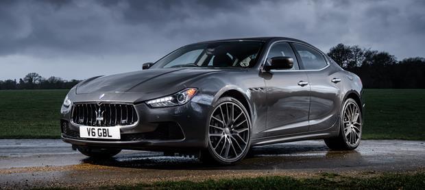 Maserati Ghibli 2014 620x277