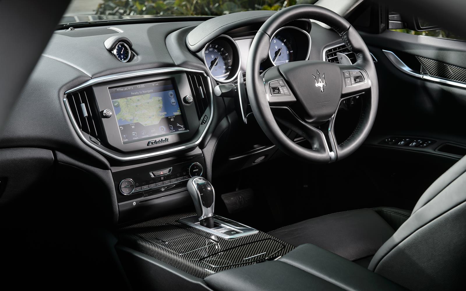 Maserati Ghibli 2014 Dashboard