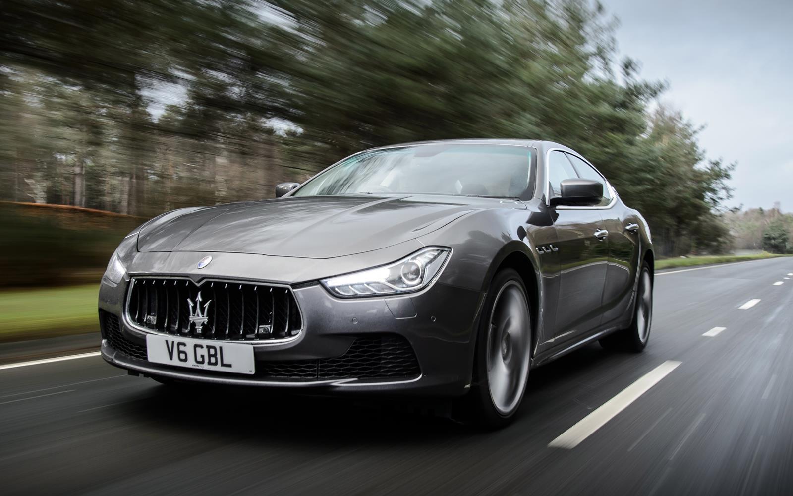 Maserati Ghibli 2014 Front Dynamic
