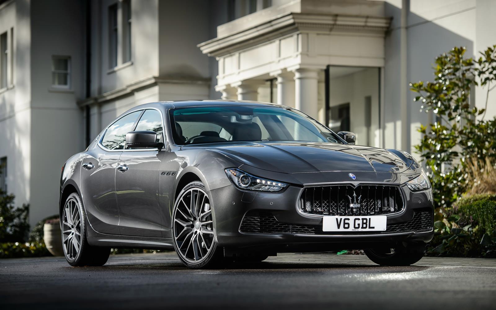 Maserati Ghibli 2014 Front Static