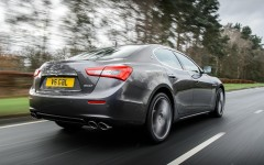 Maserati Ghibli 2014 Rear Dynamic
