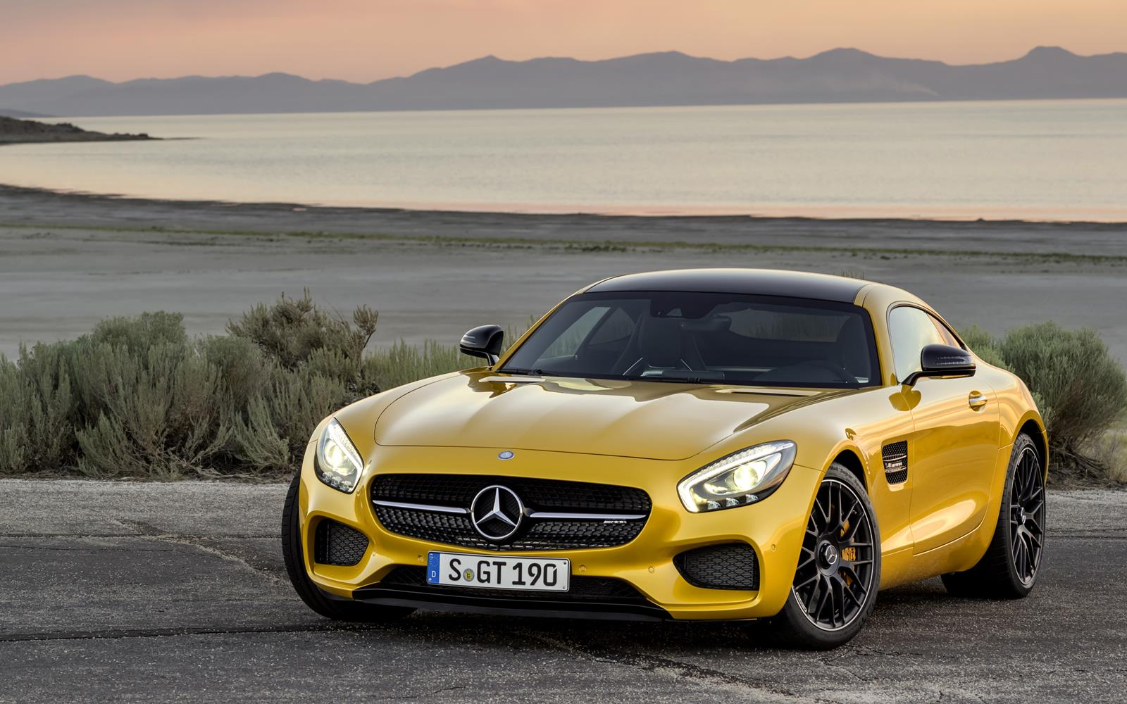 Coming Soon 2015 Mercedes-AMG GT