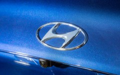 Hyundai Genesis 2015 Logo Detail