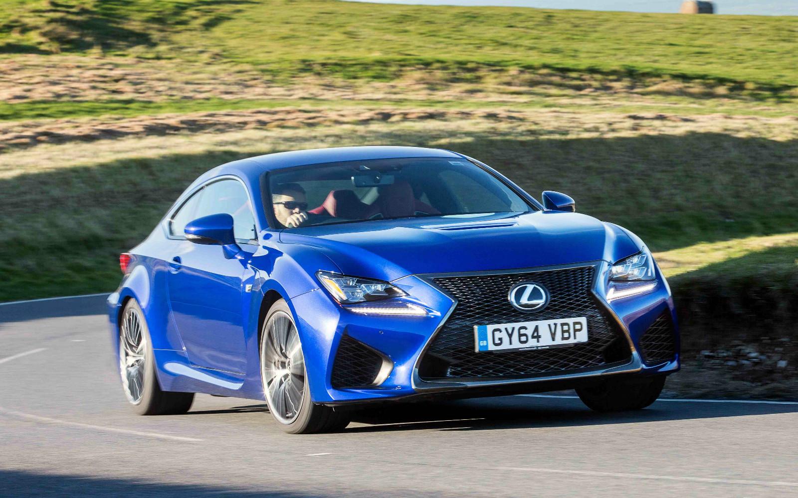 Lexus RC F 2015 Front Dynamic