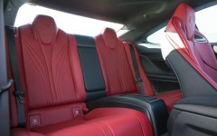Lexus RC F 2015 Rear Seats