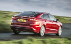 Ford Mondeo 2015 Rear Dynamic