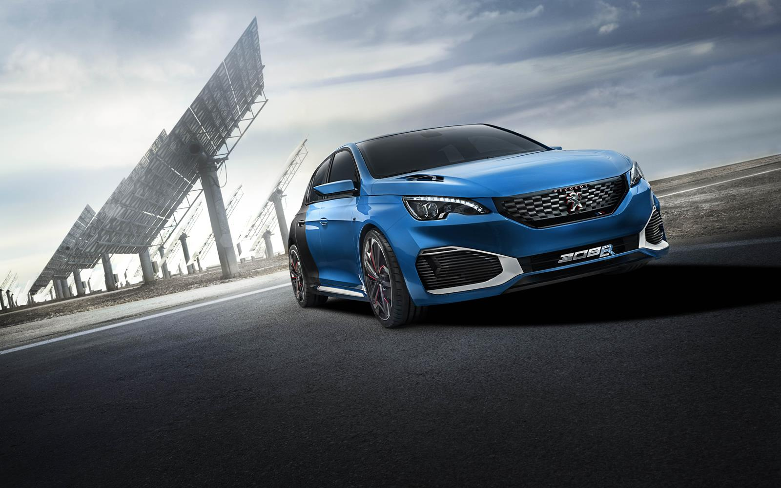 Peugeot 308 R HYbrid 2015 Front Right