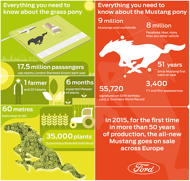 Everything you need to know about a field. And the Ford Mustang.