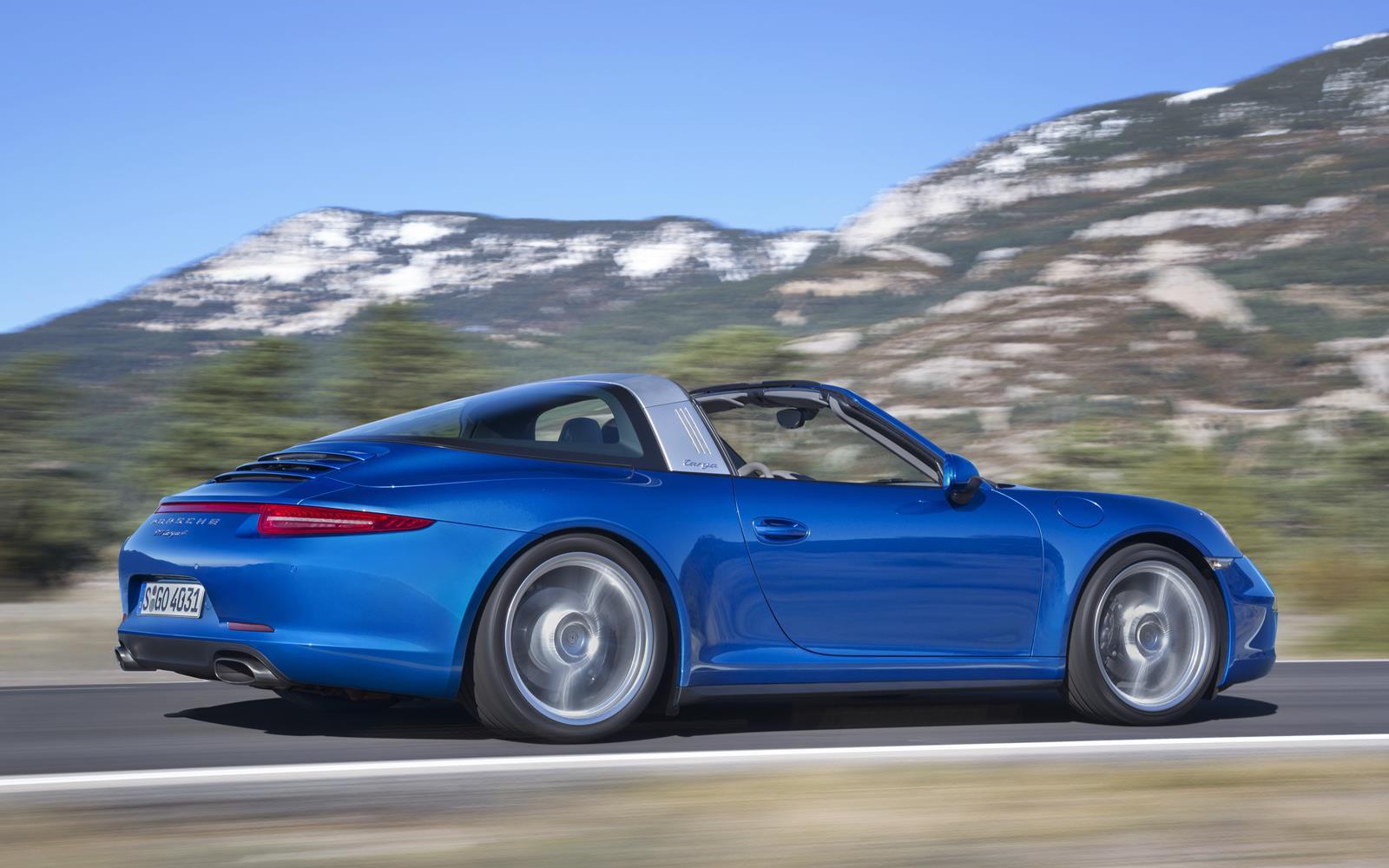 Porsche 911 Targa 4 2015 Profile Dynamic