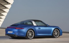Porsche 911 Targa 4 2015 Rear Roof Closed