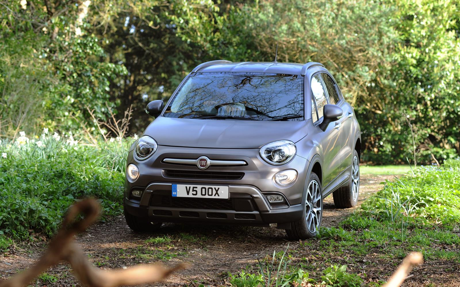 Fiat 500X 2015 Off Road Left