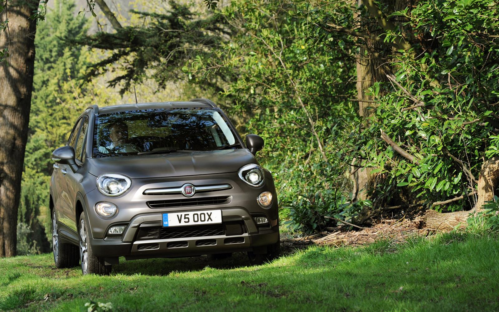 Fiat 500X 2015 Off Road Right
