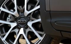 Fiat 500X 2015 Wheel Detail
