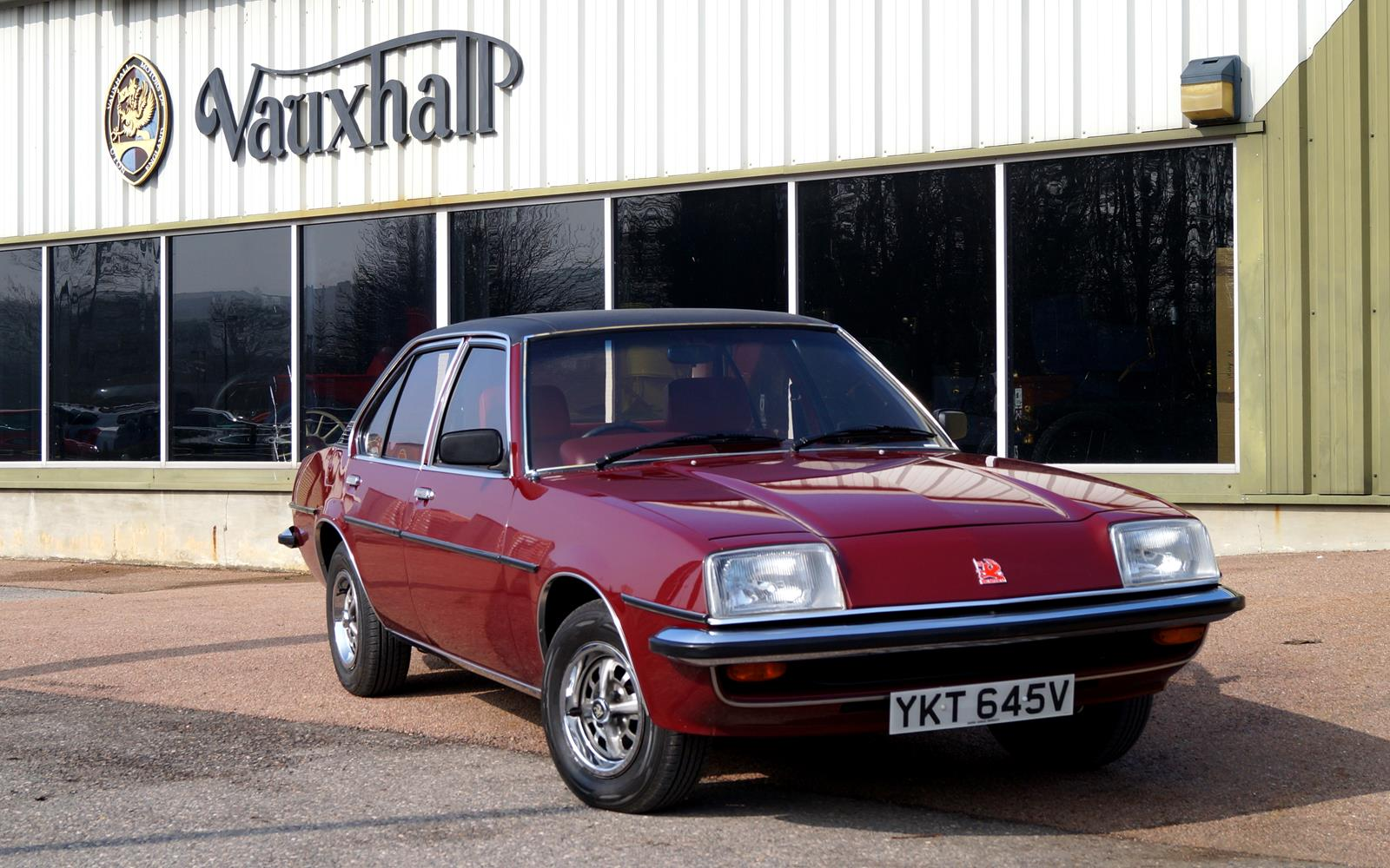 Vauxhall Cavalier Mk1 1981 Front Front Seat Driver