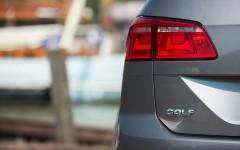Volkswagen Golf SV 2015 Rear Light Detail