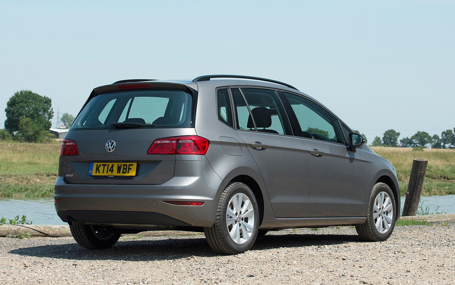 Volkswagen Golf SV 2015 Rear Static
