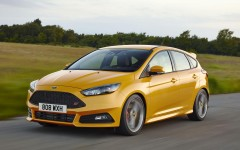 Ford Focus ST 2015 Front Dynamic