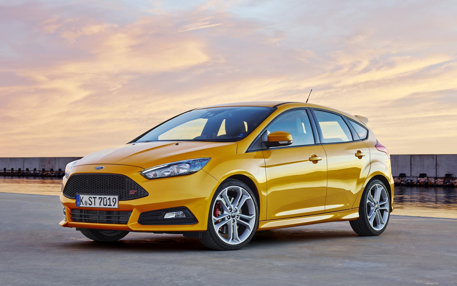 Ford Focus ST 2015 Front Static