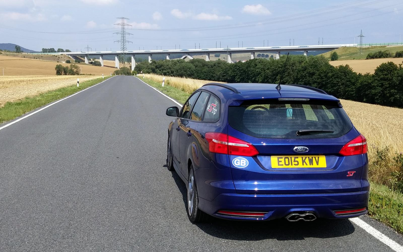 Ford Focus ST Road Trip with Jonny Edge 2015 1