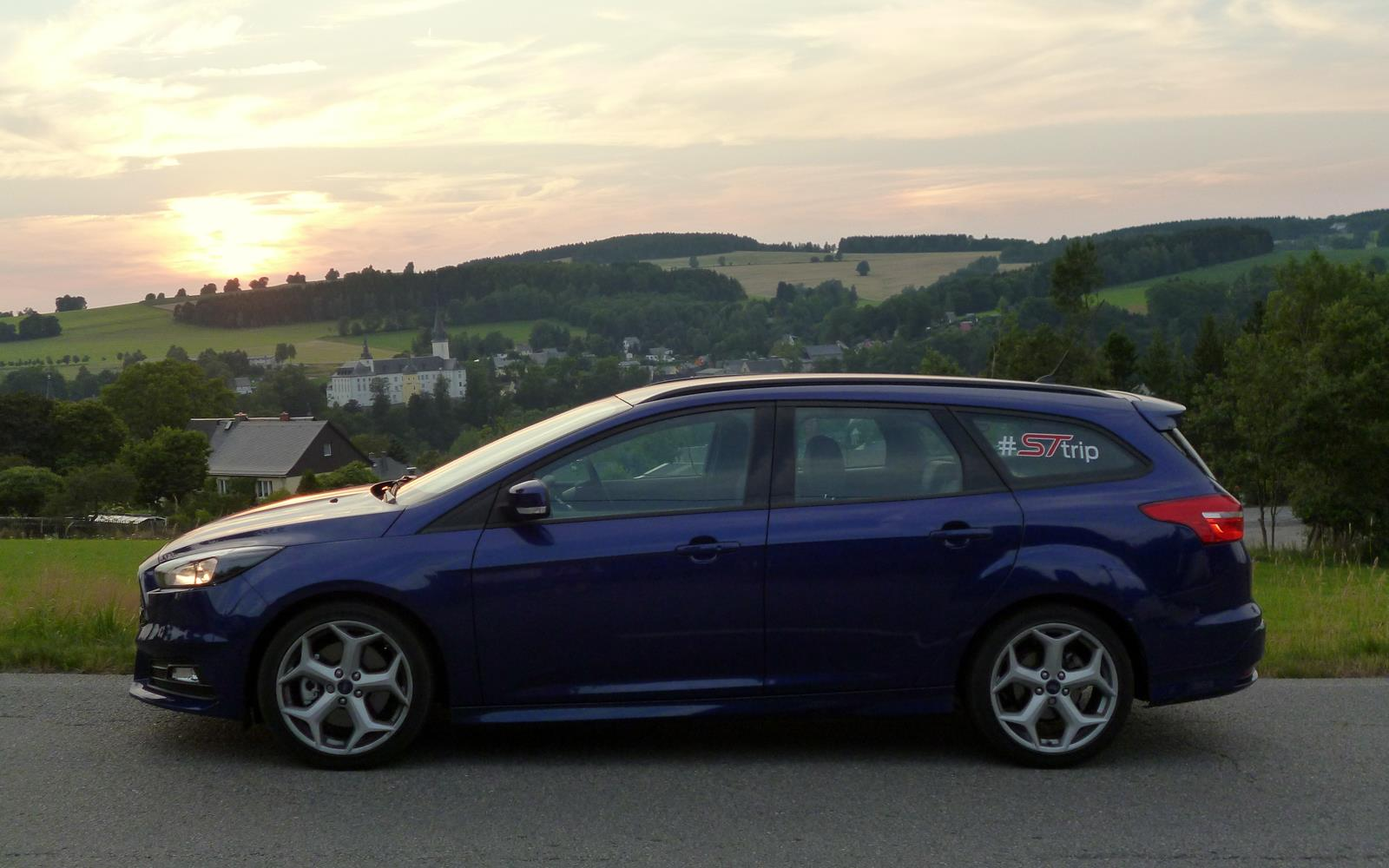 Ford Focus ST Road Trip with Jonny Edge 2015 10
