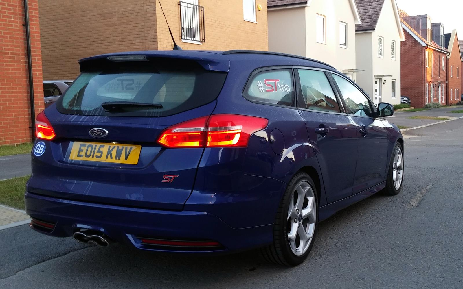 Ford Focus ST Road Trip with Jonny Edge 2015 13