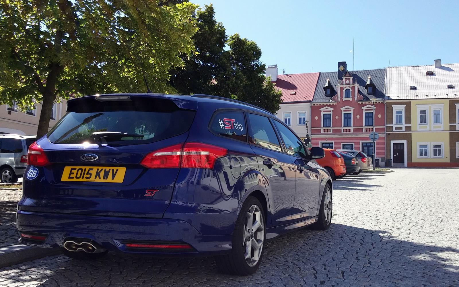 Ford Focus ST Road Trip with Jonny Edge 2015 2