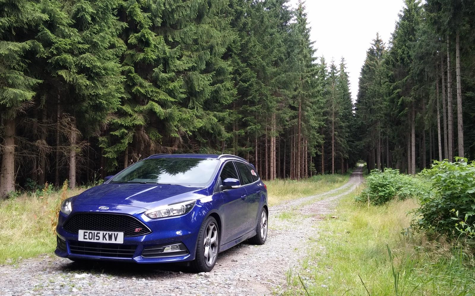 Ford Focus ST Road Trip with Jonny Edge 2015 3