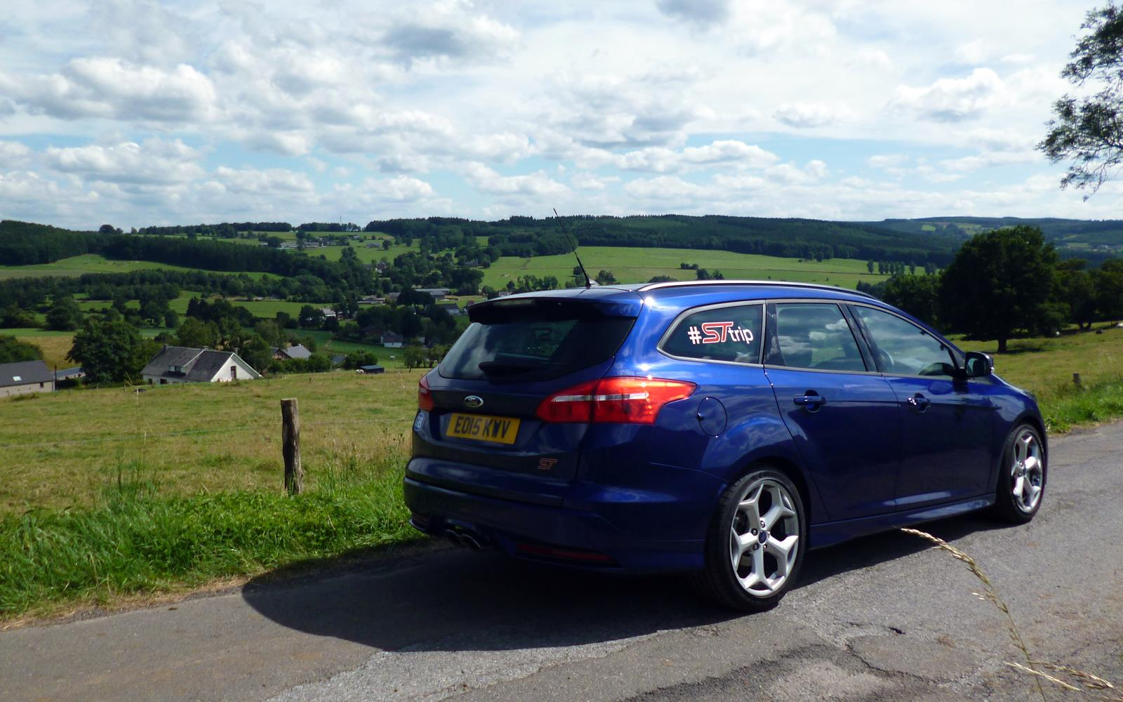 Ford Focus ST Road Trip with Jonny Edge 2015 6