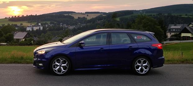 Ford Focus ST Road Trip with Jonny Edge 2015 620x277