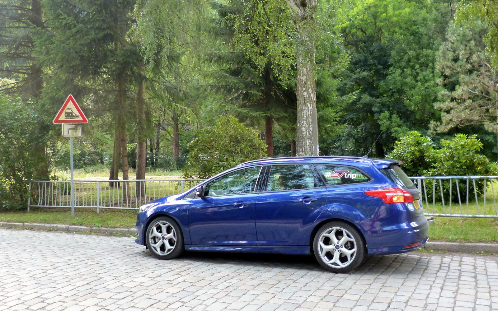 Ford Focus ST Road Trip with Jonny Edge 2015 7