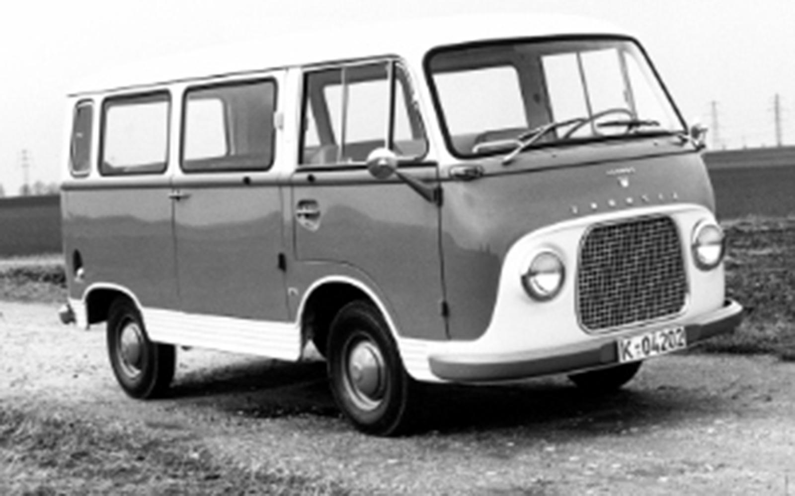 Ford Transit 50 2015 1960 Ford Taunus Transit Front Seat