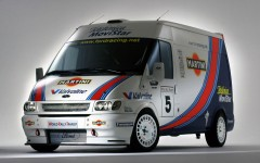 Ford Transit 50 2015 2001 World Rally Van