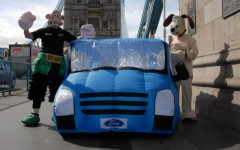 Ford Transit 50 2015 2006 London Marathon