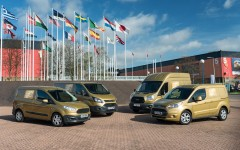 Ford Transit 50 2015 Golden Convoy