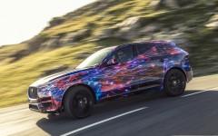 Frankfurt Motor Show 2015 Jaguar F-Pace