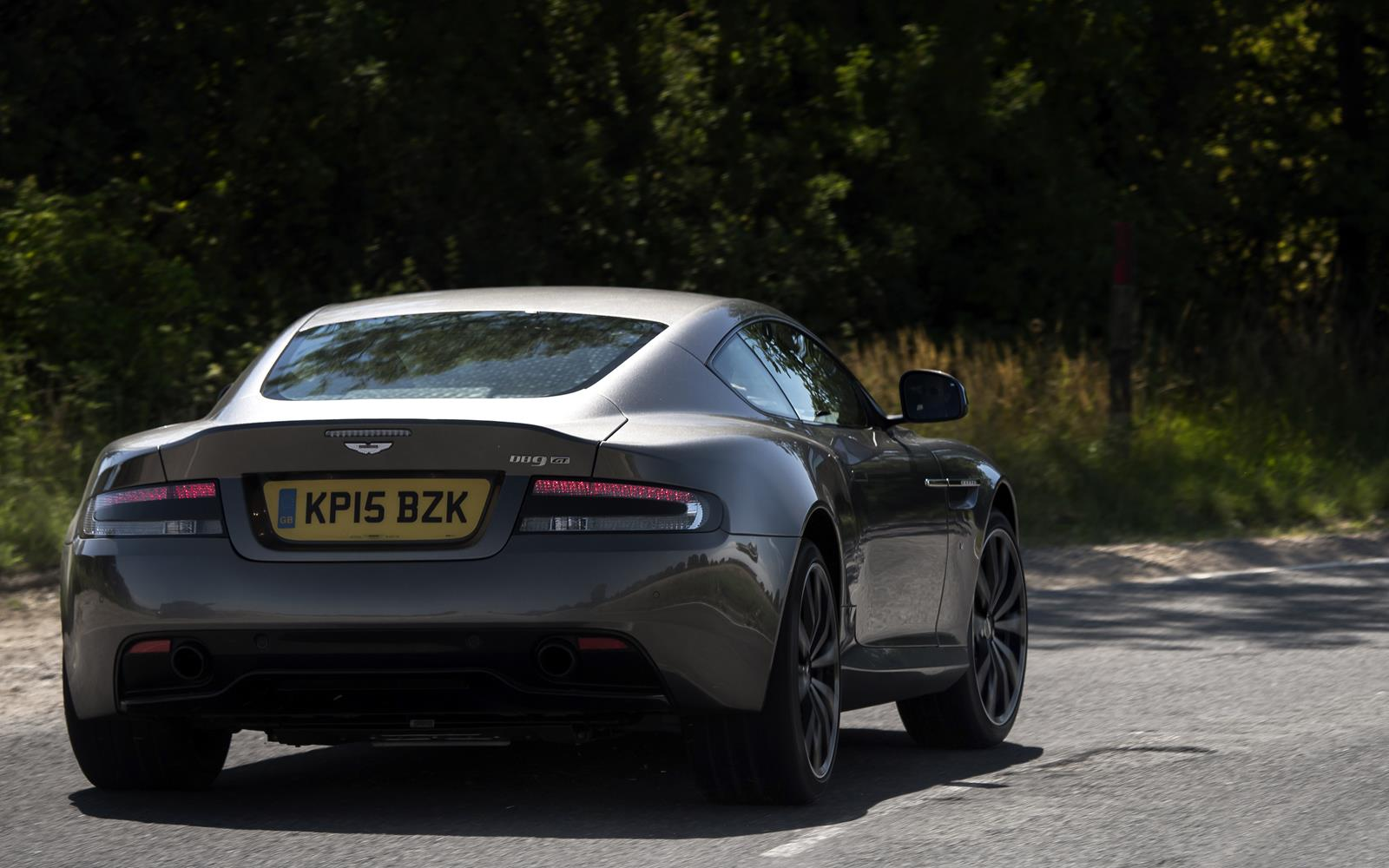 Aston Martin DB9 GT 2015 Dynamic Rear
