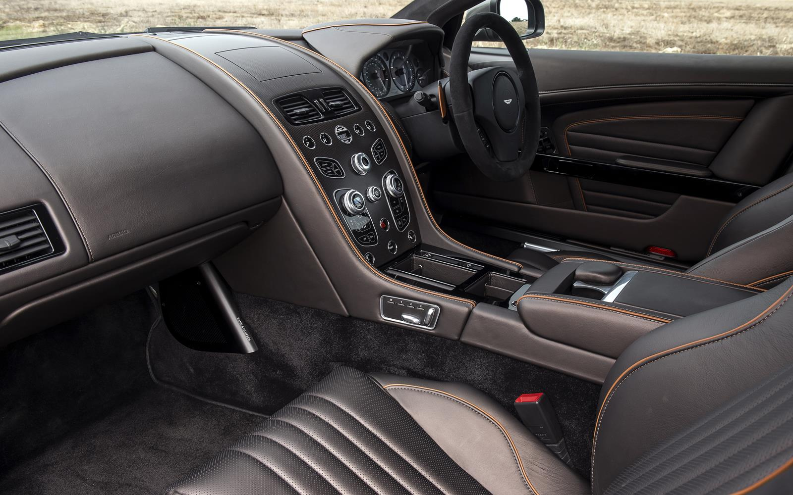 Aston Martin DB9 GT 2015 Interior