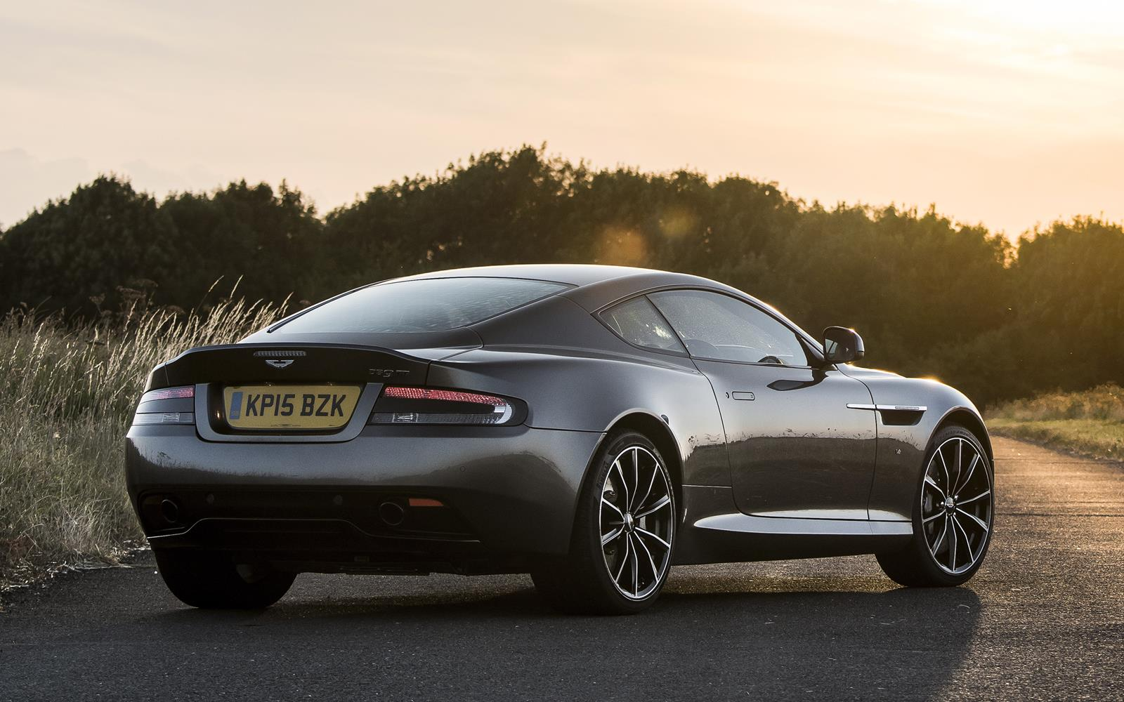 Aston Martin DB9 GT 2015 Static Rear