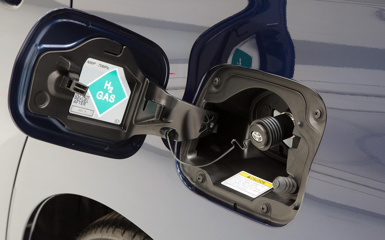 Toyota Mirai 2015 Hydrogen Filler