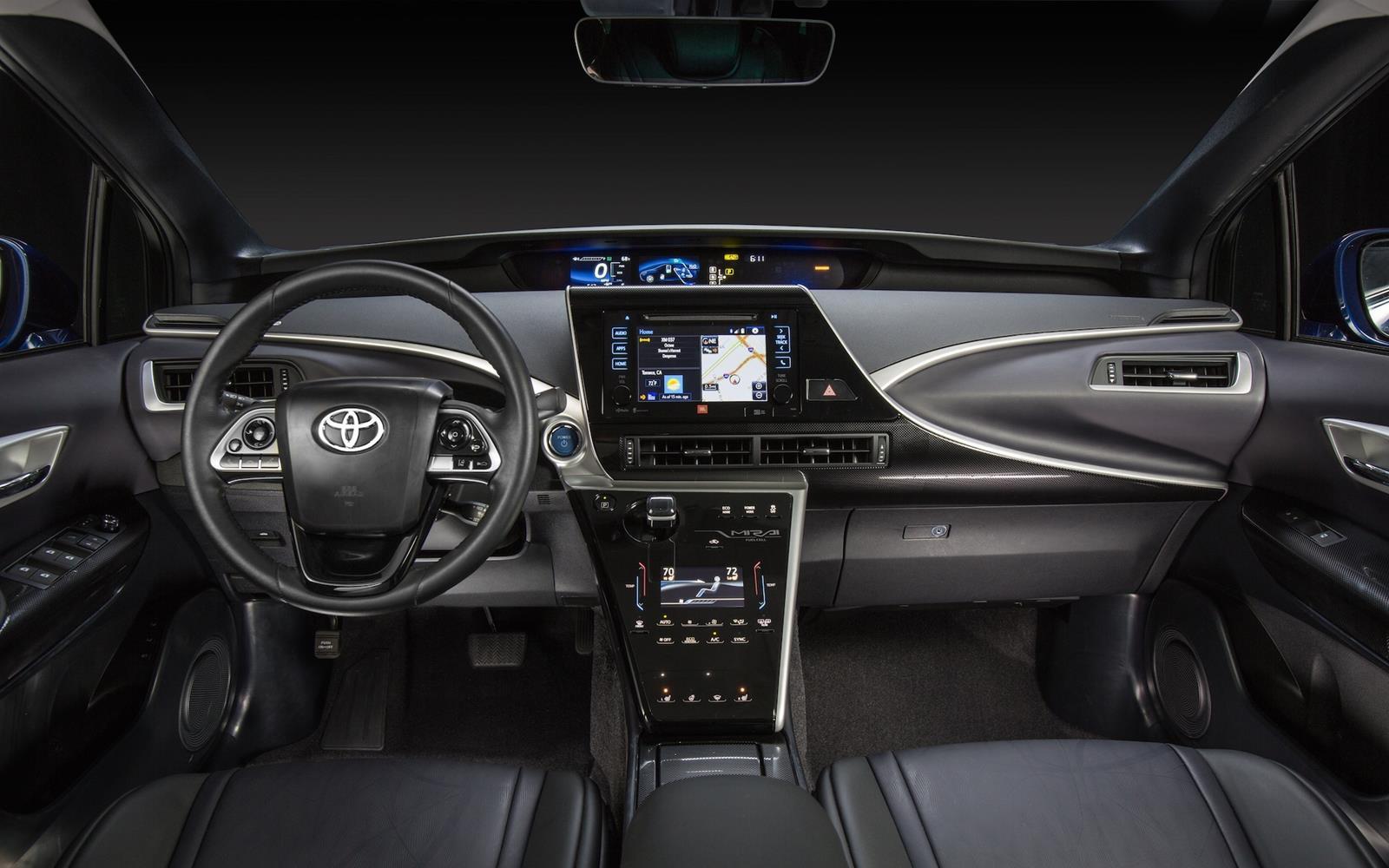Toyota Mirai 2015 Dashboard