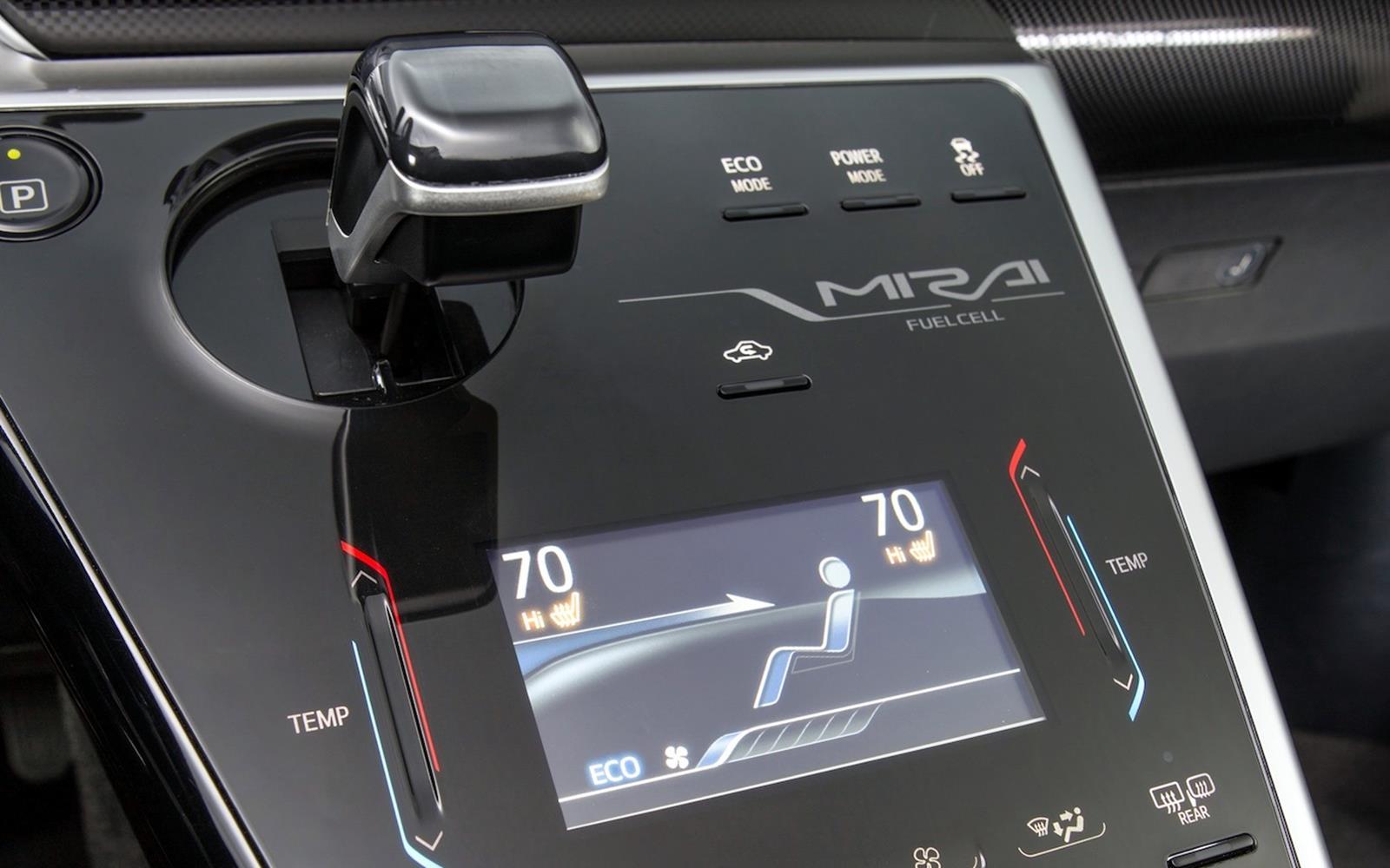 Toyota Mirai 2015 Interior Detail