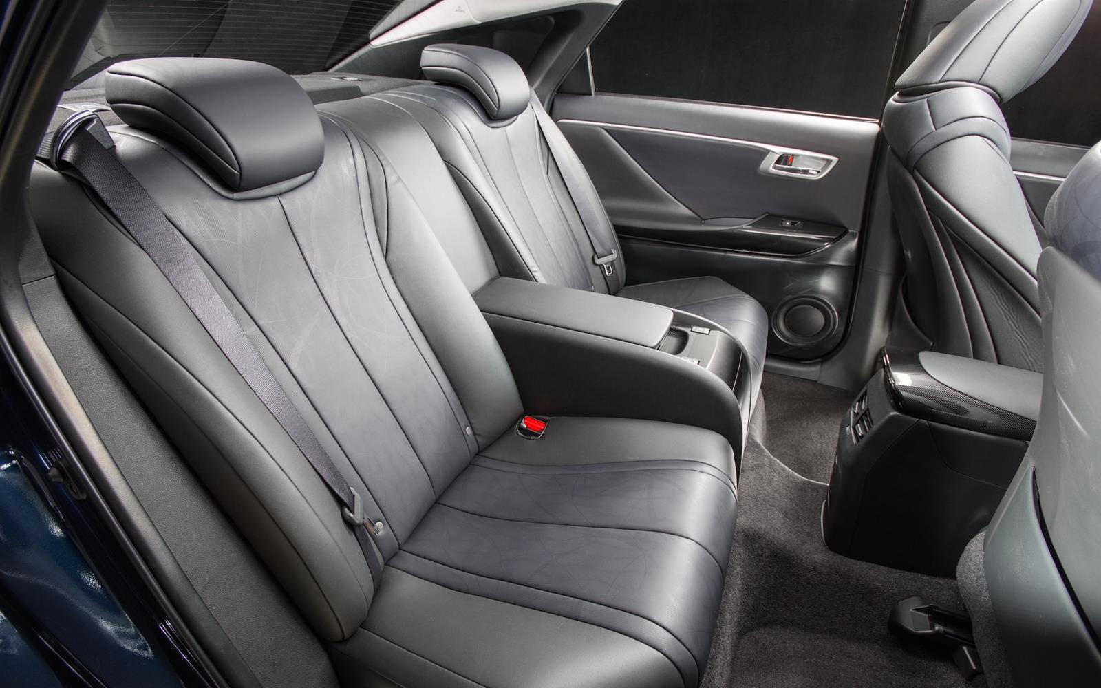 Toyota Mirai 2015 Interior Rear Seats
